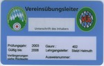 Vereinsübungsleiter-Ausweis
